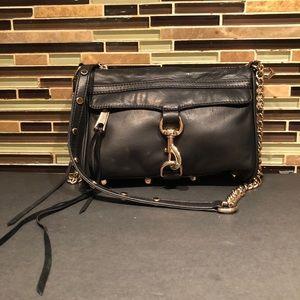 Rebecca Minkoff Black Leather Crossbody